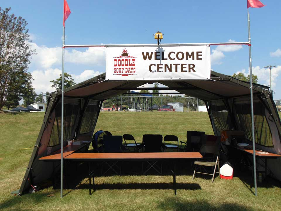 welcome-tent